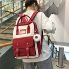 後背包 雙肩2021年新款15.6寸旅行大容量書包女時尚電腦包14潮大學生背包 交換禮物
