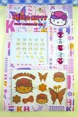 【震撼精品百貨】Hello Kitty 凱蒂貓~KITTY貼紙-紋身貼紙-帽子