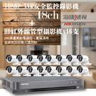 高雄監視器/200萬1080P-TVI/套裝組合【16路監視器+200萬管型攝影機*16支】可到府免費估價!非完工價!