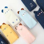 文具用品創意韓國小清新鉛筆袋簡約女生少女心可愛學生盒袋夢想巴士