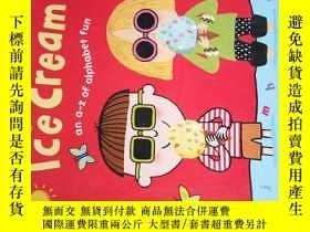 二手書博民逛書店Alphabet罕見Ice Cream: A fantastic