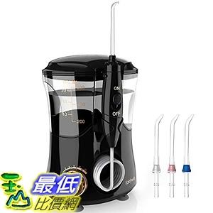 [7美國直購] 沖牙機 Water Flosser 10 Pressure Electric Dental Flosser Quiet Design 600ml Countertop Oral