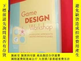 二手書博民逛書店Game罕見Design Workshop 2nd Editio