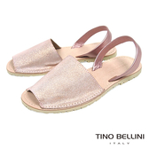 Tino Bellini 西班牙進口睛漾亮彩馬卡龍魚口涼鞋 _ 粉 A83065 歐洲進口款