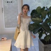 618好康又一發網紗一字領連身裙仙女裙