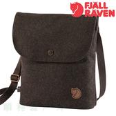 瑞典 Fjallraven Norrvage Pocket 旅行隨身袋 棕色 側背包 斜背包 小方包 環保再生羊毛 OUTDOOR NICE