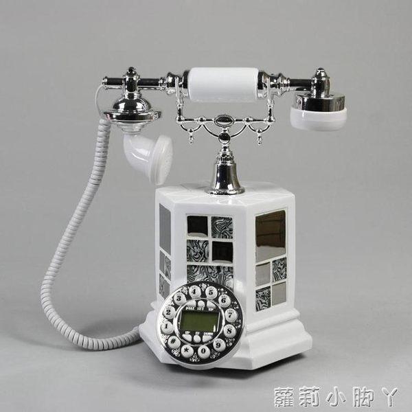 復古電話機歐式座機家用固定 創意老式仿古時尚925 igo蘿莉小腳ㄚ