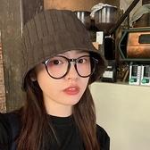 漁夫帽女盆帽韓版復古百搭遮陽水桶帽【少女顏究院】