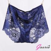 性感衣褲 情趣睡衣【Gaoria】性感蜜臀 蕾絲網紗 性感情趣三角內褲 深藍