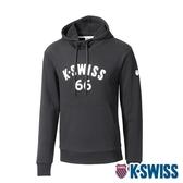 K-SWISS KS 66 Hoodie連帽上衣-男-黑