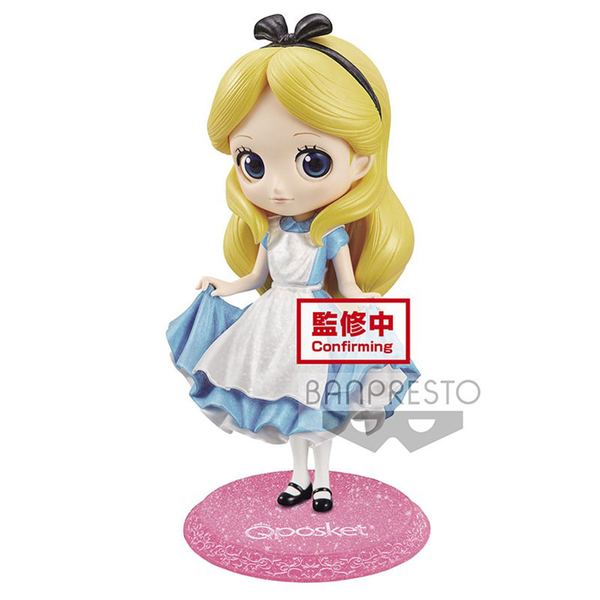 迪士尼Q POSKET愛麗絲 閃耀版_BD16413