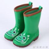 時尚卡通兒童雨鞋男童女童水鞋嬰幼兒寶寶學生膠鞋中筒雨靴 優家小鋪