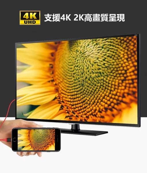 法拉利Type C 轉HDMI數位4K影音轉接線(簡易版) 安卓轉電視 手機轉螢幕