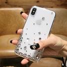 IPhone12 Pro Max 12mini iPhone11 SE2 XS Max IX XR i8 i7 Plus i6S 蘋果手機殼 水鑽殼 客製 手做 點星鑽殼