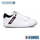 K-SWISS Lundahl WP EM防水系列 時尚運動鞋-男-白/藍/紅