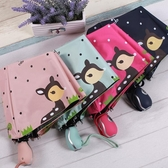 全自動兒童雨傘男女折疊小學生小孩卡通6-12大童男童公主女孩款傘