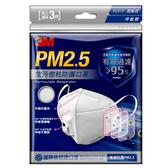 3M 空污微粒防護口罩/帶閥型(3片包)#9501V