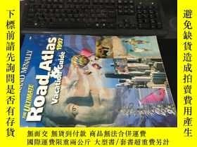 二手書博民逛書店THE罕見ULTIMATE ROAD ATLAS (Vacation guide)1997 8開平裝本224Y