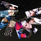 GD 權志龍 照片PVC照片串卡吊飾 卡串照片小卡手機鍊E01-B【玩之內】韓國 BIGBANG