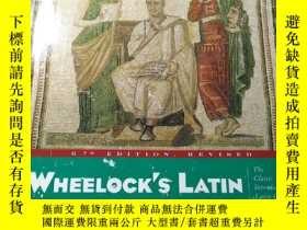 二手書博民逛書店韋洛克拉丁語(Wheelock s罕見Latin)Y252468