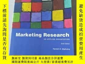 二手書博民逛書店Marketing罕見Research : Naresh K. MalhotraY447092
