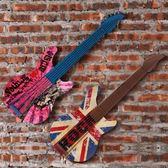 壁掛擺飾-復古做舊吉他立體居家掛飾擺件用品3款73a1[時尚巴黎]