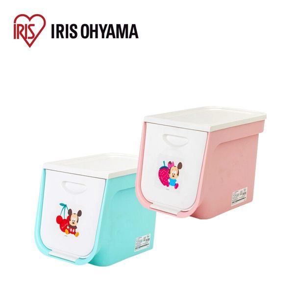 收納箱 收納盒 收納【U0173】日本Iris Ohyama 迪士尼系列上掀式收納箱 FLP-S 完美主義