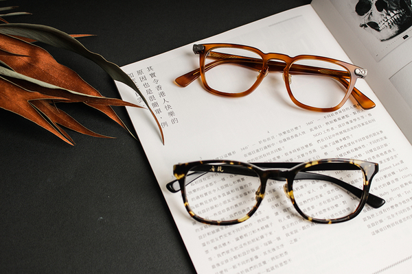 醋酸纖維手作眼鏡 - 全板材 - 營造文學氣息復古框 - 客製化眼鏡