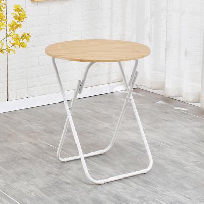 小圓桌 簡易折疊圓桌餐桌家用小戶型吃飯小桌子戶外擺攤桌便攜式桌椅【全館免運】