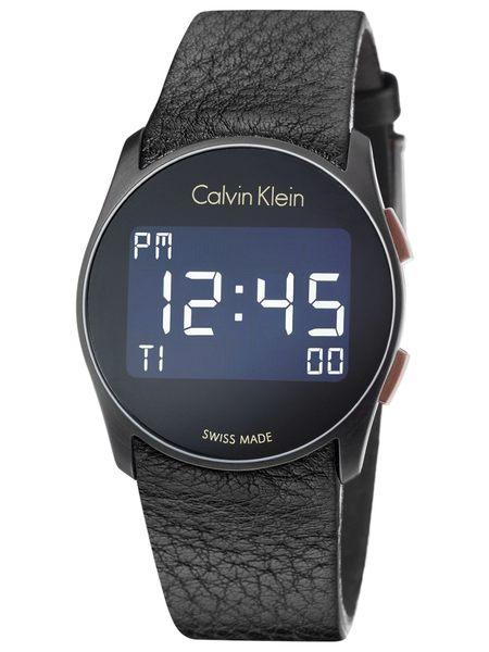 CK手錶 Calvin Klein Future電子腕錶 瑞士ck手錶 男錶女錶對錶K5B13XC1