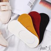 Ann'S40號以上專用防滑膠條棉質隱形襪 (40~45號適穿)