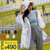 LULUS-新色登場-Y雙口袋拉鍊袖鬆緊外套-9色  現+預【03070373】