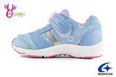 Moonstar 月星 WagaMama系列 日本機能鞋 中童 運動鞋 慢跑鞋 I9641#藍色◆OSOME奧森鞋業