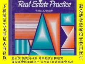 二手書博民逛書店California罕見Real Estate Practice (prentice Hall Series In