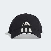 Adidas C40 6P 3S CLMLT BLACK [DT8542] 男女 帽子 鴨舌帽 老帽 經典 基本 黑