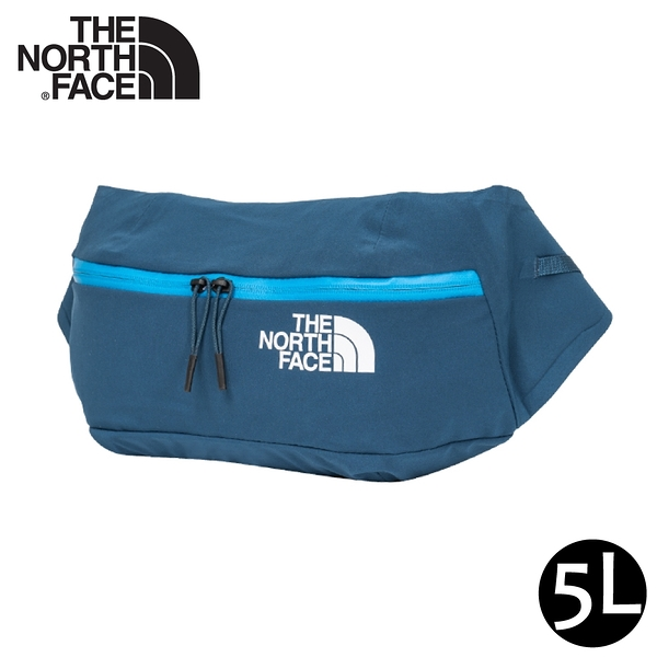 【The North Face 5L 防水腰包《午夜藍》】52CU/輕巧休閒腰包/側背包/隨行包/臀包/透氣/運動/跑步