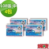 楓康環保3入垃圾袋4件組(中/108張/53X60cm)
