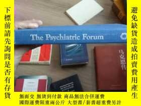 二手書博民逛書店USDIN罕見THE PSYCHIATRIC FORUM1044