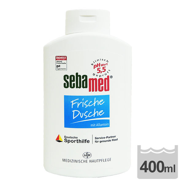 Sebamed施巴 運動清爽沐浴乳 400ml ◆86小舖 ◆