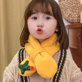 兒童圍脖秋冬季男女童寶寶可愛保暖圍巾嬰兒韓版潮小童卡通嬰幼兒