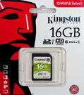 金士頓 KINGSTON 16GB SDHC Class10 UHS-I ( SDS/16GB)