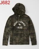 AF Abercrombie & Fitch A&F A & F 男 帽T外套 J682
