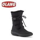 【OLANG 義大利 NORA.OC OLANTEX 防水雪靴《黑》】1582/保暖/滑雪/雪地