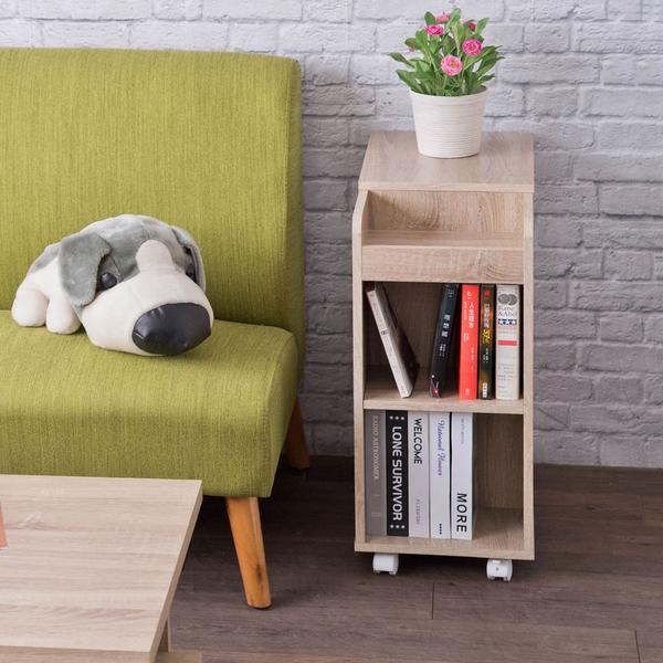 邊櫃 置物櫃 床頭櫃【收納屋】德爾活動收納櫃-淺橡木&DIY組合傢俱