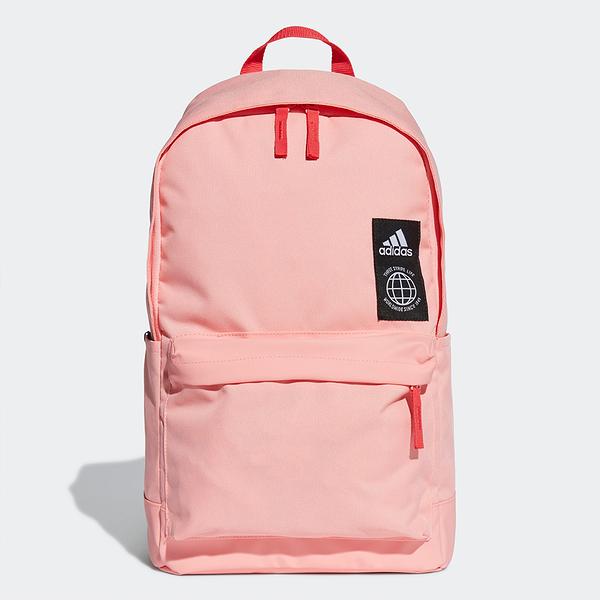 ADIDAS Clas BP Pocket 後背包 背包 側口袋 旅行 書包 輕便 粉【運動世界】FJ9280