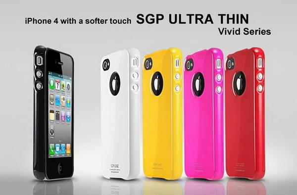 【東西商店‧出清3折價】SGP Ultra Thin ViVid iPhone 4 保護殼