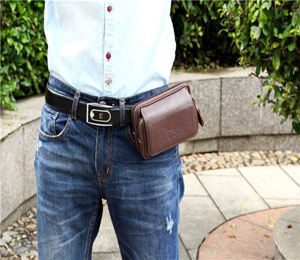 男士掛腰皮套手機套包通用型 免運