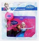 【金玉堂文具】迪士尼 DISNEY 冰雪奇緣繽紛伸縮證件套組「桃紅‧艾莎安娜」迪士尼 Disney (FRDC90-1)
