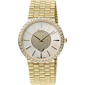 Ogival 愛其華 聚星晶鑽經典腕錶-金x珍珠貝/38mm 377-1MK