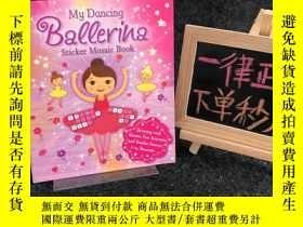 二手書博民逛書店Sticker罕見Mosaic Book:My Dancing BallerinaY364544 外文社 外文